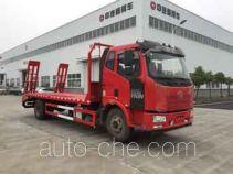 中汽牌ZQZ5163TPB型平板运输车