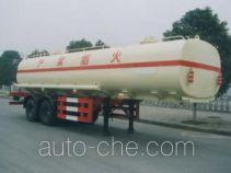 中汽牌ZQZ9240GYY型运油半挂车