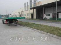 Zhongqi ZQZ9310TJZP flatbed container trailer