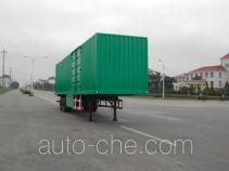 Zhongqi ZQZ9330XXY box body van trailer