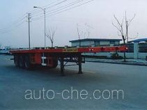 中汽牌ZQZ9380TJZP型集装箱半挂牵引车