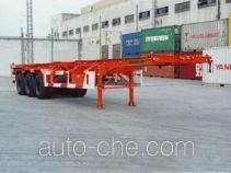 中汽牌ZQZ9400TJZK型集装箱运输半挂车