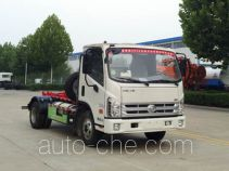 Dongyue ZTQ5040ZXXBJF35DL detachable body garbage truck