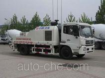 东岳牌ZTQ5127THBE型车载式混凝土泵车