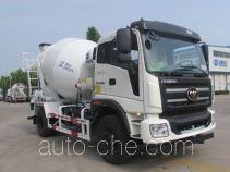 东岳牌ZTQ5160GJBBJJ43D型混凝土搅拌运输车