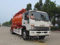 东岳牌ZTQ5163GXWHFJ45E型吸污车
