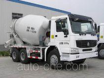 东岳牌ZTQ5252GJB2N384C型混凝土搅拌运输车