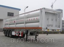 Dongyue ZTQ9400GGY high pressure gas long cylinders transport trailer