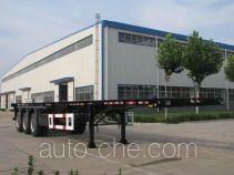 东岳牌ZTQ9401TJZ型集装箱运输半挂车