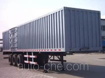 Dongyue ZTQ9401XXY box body van trailer