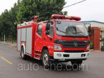 Zhongzhuo Shidai ZXF5110GXFPM35 пожарный автомобиль пенного тушения