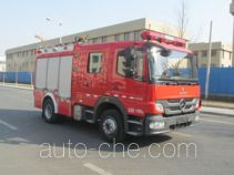 中卓时代牌ZXF5120GXFPM30型泡沫消防车