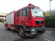 中卓时代牌ZXF5120TXFJY100/M型抢险救援消防车