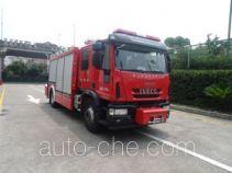 中卓时代牌ZXF5120TXFJY100/Y型抢险救援消防车