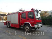 Zhongzhuo Shidai ZXF5121TXFJY100 fire rescue vehicle