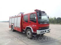 中卓时代牌ZXF5160GXFPM50/W型泡沫消防车