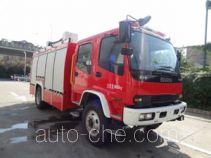 中卓时代牌ZXF5160GXFPM60/A型泡沫消防车