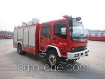 Zhongzhuo Shidai ZXF5160GXFSG60/A fire tank truck