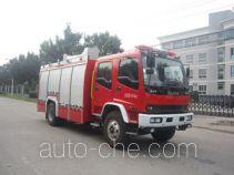 中卓时代牌ZXF5170GXFAP60型泡沫消防车