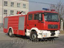 中卓时代牌ZXF5180GXFPM70型泡沫消防车