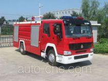 中卓时代牌ZXF5190GXFPM80A型泡沫消防车