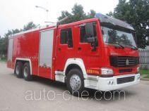 Zhongzhuo Shidai ZXF5240TXFGF60 пожарный автомобиль порошкового тушения