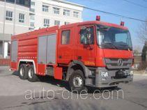 中卓时代牌ZXF5270GXFPM100型泡沫消防车