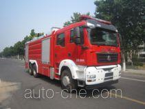 中卓时代牌ZXF5280GXFPM120/S型泡沫消防车