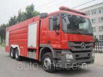 Zhongzhuo Shidai ZXF5310GXFGY150 liquid supply tank fire truck