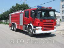中卓时代牌ZXF5310GXFPM150型泡沫消防车