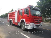 中卓时代牌ZXF5310GXFPM160型泡沫消防车