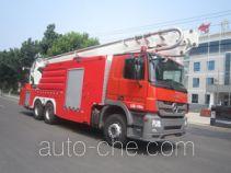 Zhongzhuo Shidai ZXF5310JXFJP32 high lift pump fire engine