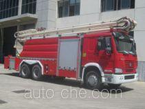 Zhongzhuo Shidai ZXF5320JXFJP26 high lift pump fire engine