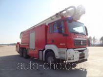 Zhongzhuo Shidai ZXF5320JXFJP32 high lift pump fire engine