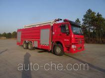 Zhongzhuo Shidai ZXF5330JXFJP18 high lift pump fire engine