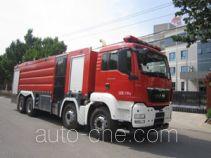 中卓时代牌ZXF5371GXFPM180型泡沫消防车