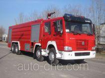 中卓时代牌ZXF5380GXFPM200型泡沫消防车