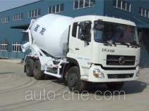 圣龙牌ZXG5250GJB型混凝土搅拌运输车
