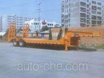圣龙牌ZXG9330TDPA型低平板半挂车