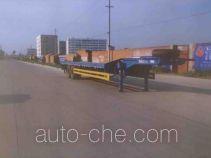 圣龙牌ZXG9340TDP型低平板半挂车