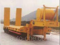 圣龙牌ZXG9401TDP型低平板半挂车