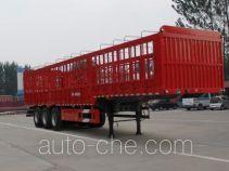 庄宇牌ZYC9400CCYE型仓栅式运输半挂车