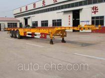 庄宇牌ZYC9401TJZ型集装箱运输半挂车