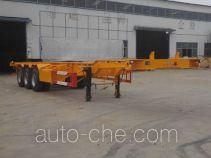 庄宇牌ZYC9402TJZ型集装箱运输半挂车