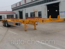 Zhuangyu ZYC9403TJZ container transport trailer