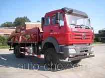 中油牌ZYT5161ZBG4型背罐车
