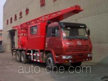CNPC ZYT5200TCY well servicing rig (workover unit) truck