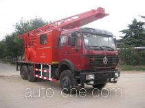 CNPC ZYT5213TCY well servicing rig (workover unit) truck
