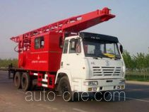 CNPC ZYT5231TCY well servicing rig (workover unit) truck
