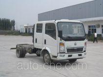 豪泺牌ZZ1047D3413D5Y45型载货汽车底盘